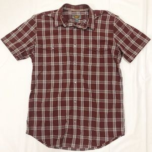 Foundry Supply Tall Large Plaid Button Shirt